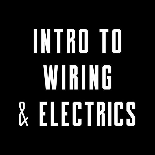 Motorcycle wiring and electrics course