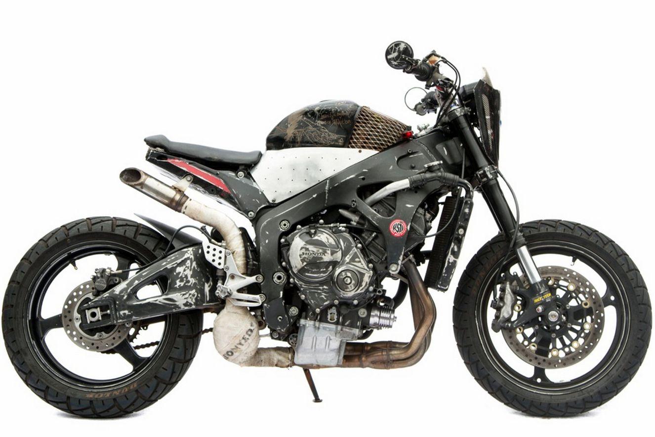 Honda CBR600RR Scrambler
