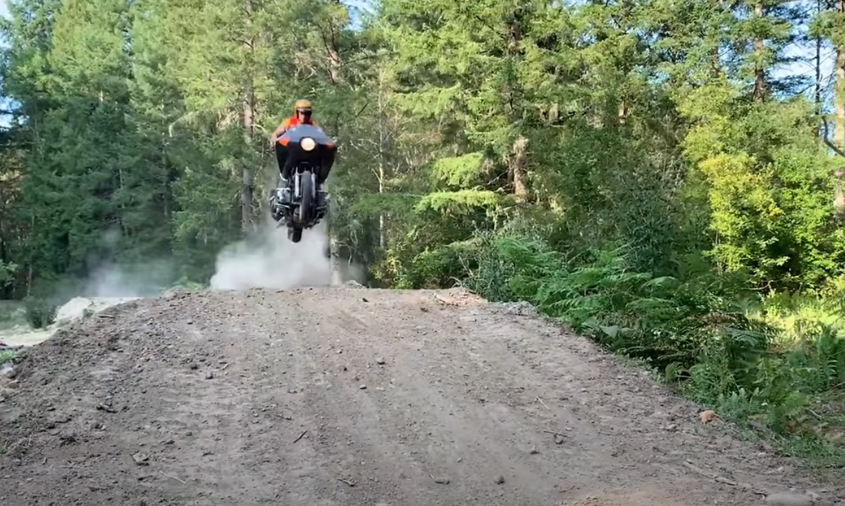 Gold Wing Jump